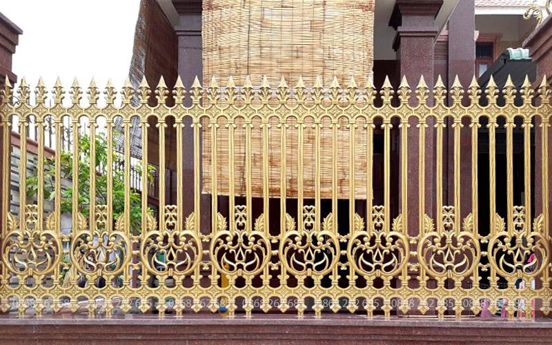 Hàng rào nhôm đúc Mạnh Quân Phát: MQP-HR19
