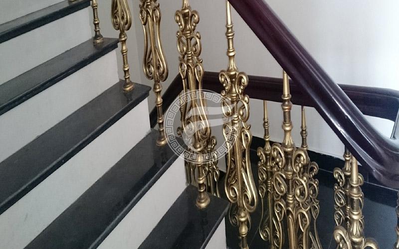 Cầu thang nhôm đúc MQP - CT10