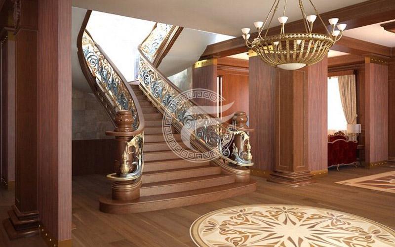 Cầu thang nhôm đúc MQP - CT16