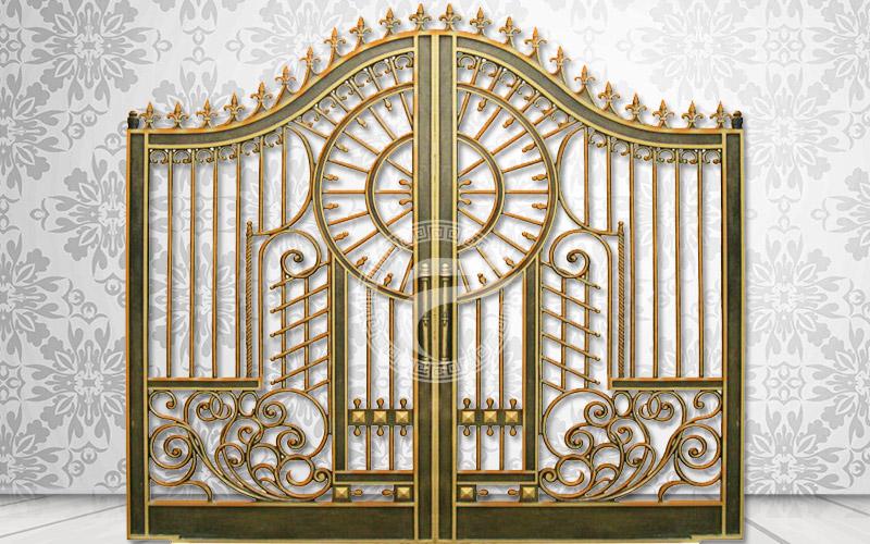 Mẫu cổng nhôm đúc - MQP04