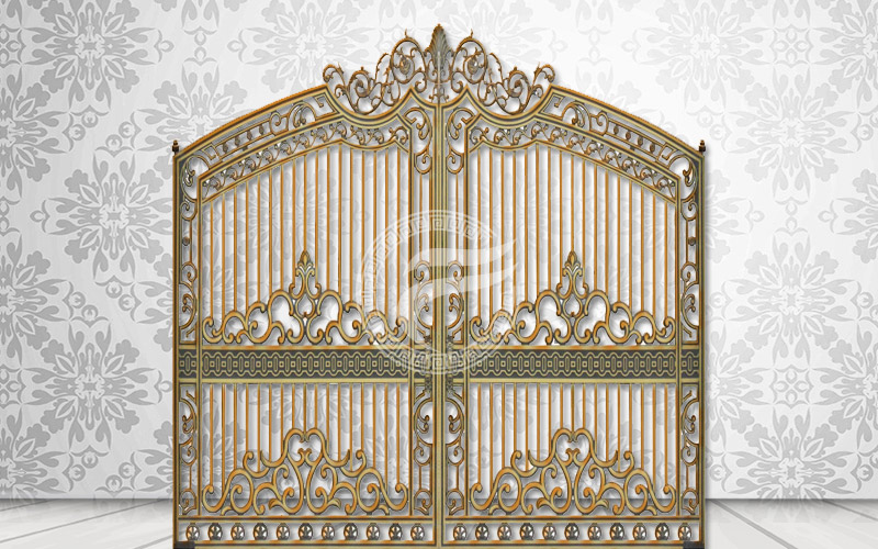 Cổng nhôm đúc -MQP11