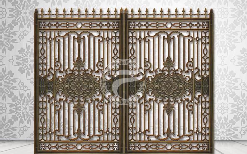 Cổng nhôm đúc - MQP13