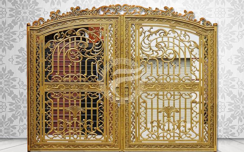 Cổng nhôm đúc- MQP14