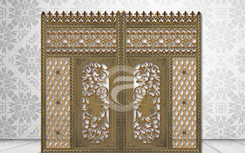 Cổng nhôm đúc - MQP20