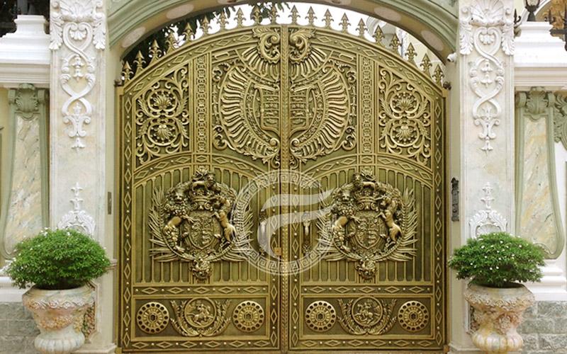 Cổng nhôm đúc - MQP36