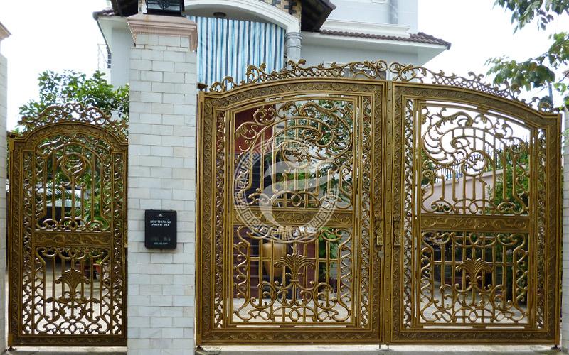 Cổng nhôm đúc - MQP50