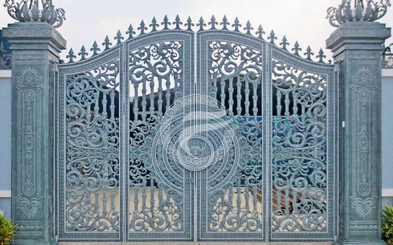 Cổng nhôm đúc - MQP51