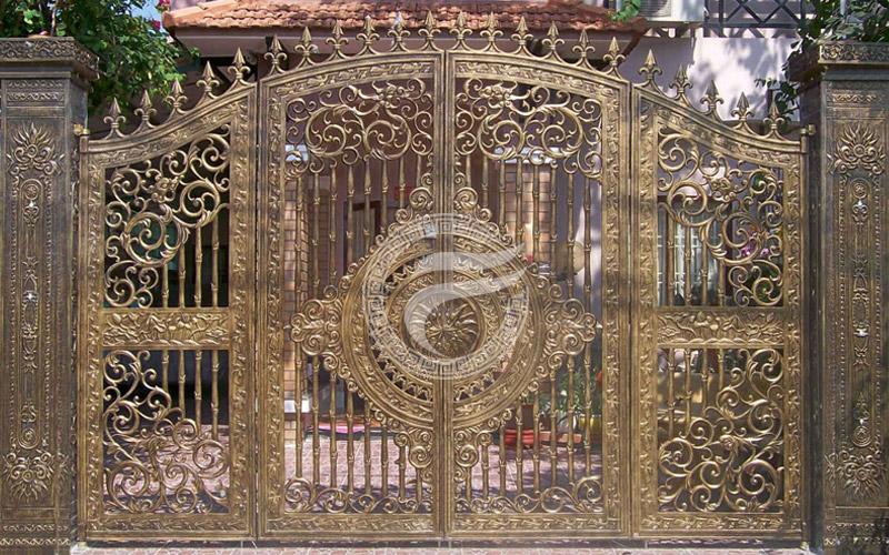 Cổng nhôm đúc - MQP57