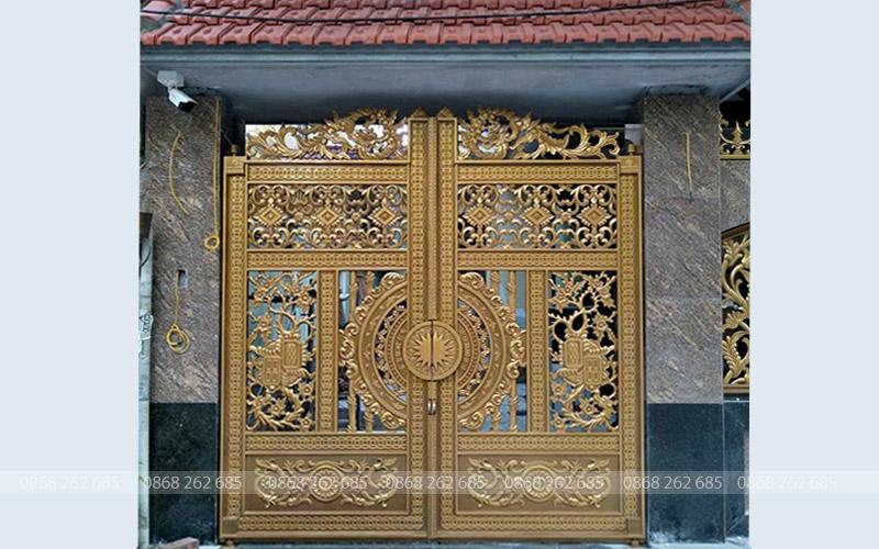 Cổng nhôm đúc - MQP66