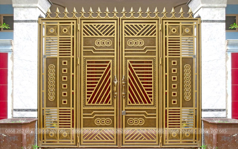 Cổng nhôm đúc - MQP64