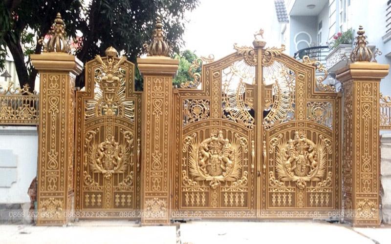 Cổng nhôm đúc - MQP60