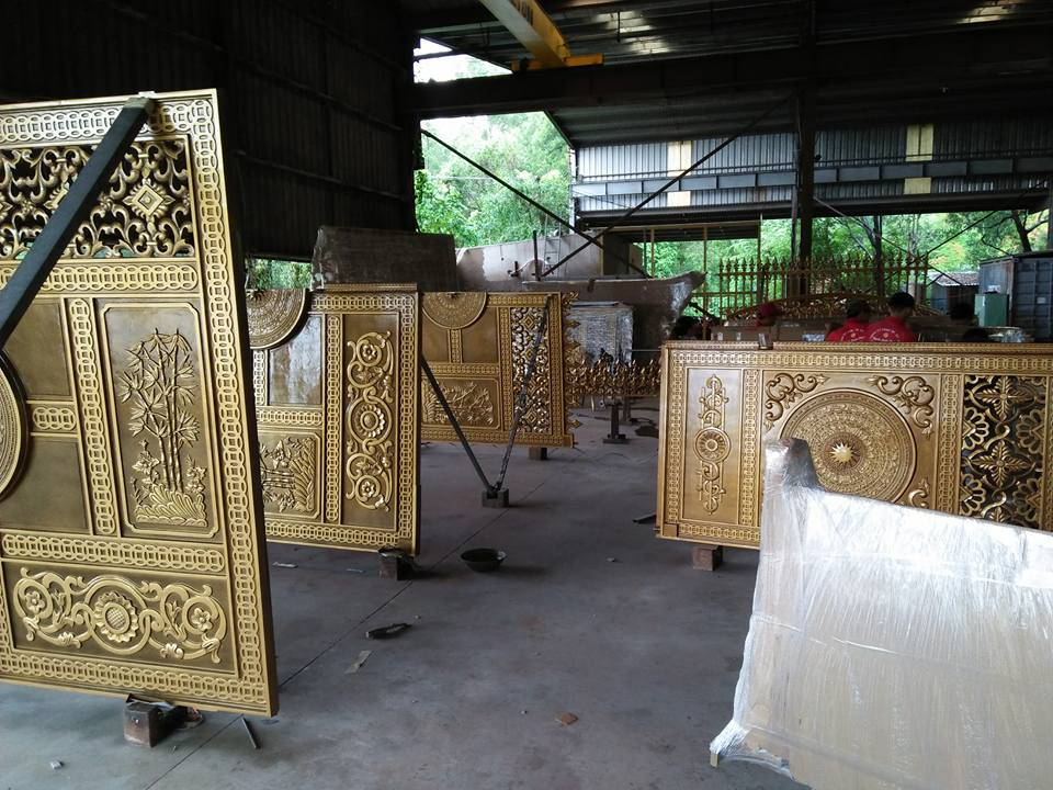 Cổng nhôm đúc tại Tam Hiệp Biên Hòa